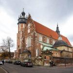 Außenansicht der christlichen Pfarrkirche Corpus Christi