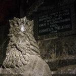 Salzstatue von Kasimir des Großen in der Salzmine Kopalnia Soli Wieliczka