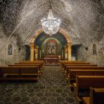 Die Hl.-Johannes- Kapelle in 135 Metern Tiefe in der Salzmine Kopalnia Soli Wieliczka