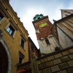 Blick auf den Turm der Wawel-Kathedrale