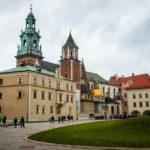 Außenansicht der Wawel-Kathedrale und des Burggeländes