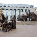 Das Denkmal des Warschauer Aufstandes