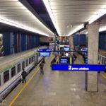 Der Warschauer Hauptbahnhof Warszawa Centralna