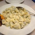 Pierogi im Restaurant Pod Samsonem in Warschau