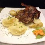 Entenbrust im Restaurant Pod Samsonem in Warschau