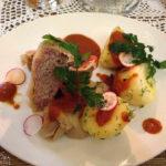 Krautrouladen Golabki im Restaurant Dawne Smaki in Warschau