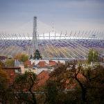 Das Nationalstadion PGE Narodowy in Warschau
