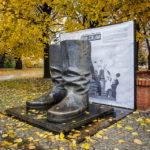 Stalins Stiefel (Kopie des Originals aus Budapest zum Gedenken an 60 Jahre ungarischer Volksaufstand 2016)