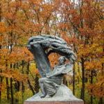 Das Denkmal für Frédéric Chopin im Warschauer Łazienki-Park