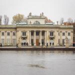 Der Łazienki-Palast im Warschauer Łazienki-Park