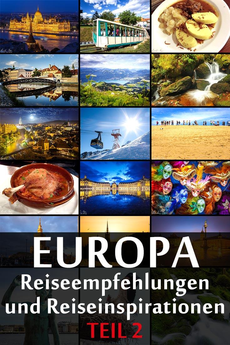 Reiseziele und Reiseempfehlungen für Europa, die besten Fotospots sowie allgemeinen Tipps und Restaurantempfehlungen.