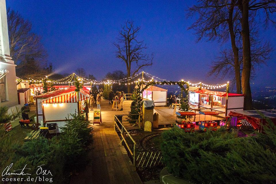 Klein, aber fein präsentiert sich der Adventmarkt beim Schloss Wilhelminenberg