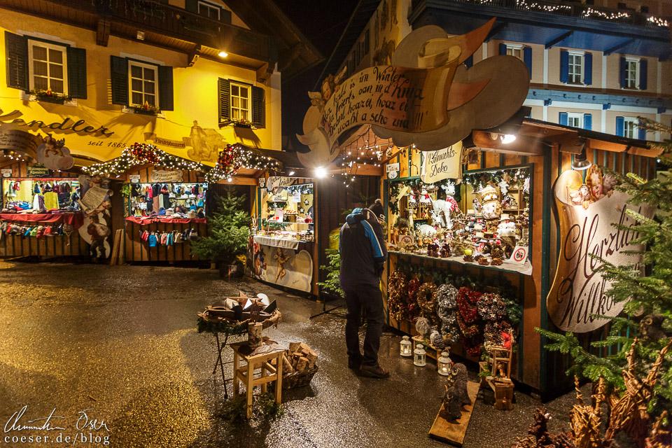 Im historischen Ortszentrum gilt es jede Menge lokales Kunsthandwerk zu entdecken