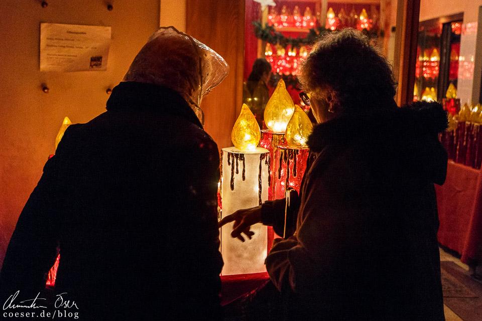 Das Symbol der Kerze findet sich in St. Gilgen überall wieder und kann auch käuflich erworben werden