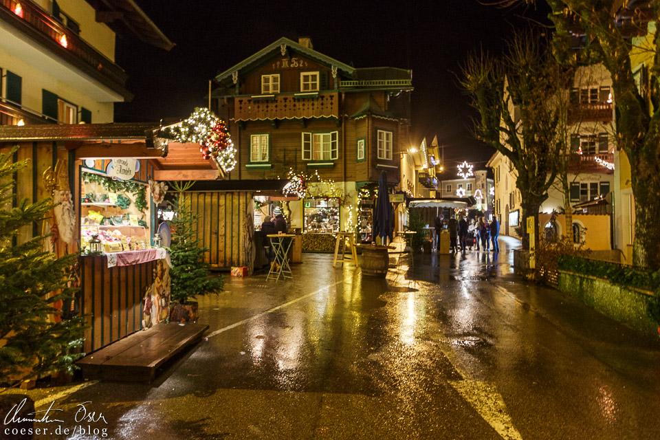 Im Vergleich zu den anderen beiden Ortschaften des Wolfgangseer Advents geht es in St. Gilgen richtig beschaulich zu
