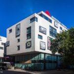 Außenansicht des Austria Trend Hotels in Bratislava