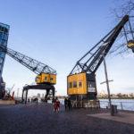 Historische Krananlagen im Rheinauhafen