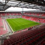 Innenansicht des Rheinenergiestadions, Heimstätte des 1. FC Köln