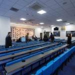 Pressekonferenzraum im Etihad Stadium