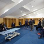 Kabinenbereich für Gastmannschaften im Etihad Stadium