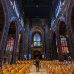 Innenansicht der Manchester Cathedral