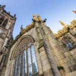 Außenansicht der Manchester Cathedral