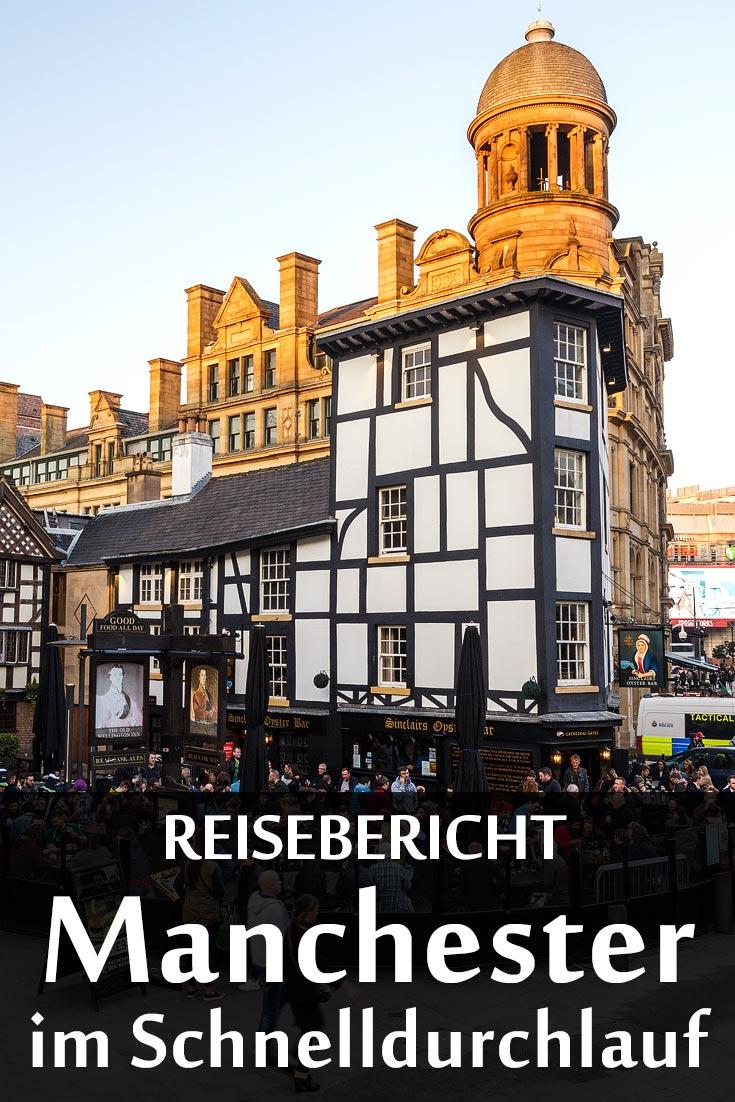 Manchester: Reisebericht mit Erfahrungen zu Sehenswürdigkeiten, den Fußballstadien Old Trafford und Etihad Stadium sowie allgemeinen Tipps.