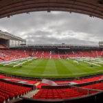 Panorama des Stadions Old Trafford
