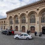 Das Bahnhofsgebäude Estación de Toledo