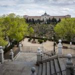 Blick auf die Academia de Infantería de Toledo (Infanterieakademie von Toledo)