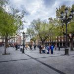 Der Platz Plaza de Zocodover in Toledo
