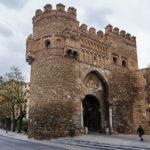 Das Stadttor Puerta del sol in Toledo