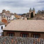 Blick auf Hausdächer in der Altstadt von Toledo