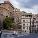Blick auf alte Gebäude in der Altstadt von Toledo