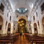 Innenansicht der Kirche Iglesia de los Jesuitas