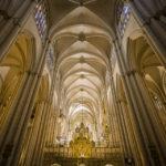 Innenansicht der Catedral Primada (Kathedrale von Toledo)
