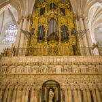 Die Orgel in der Catedral Primada (Kathedrale von Toledo)