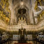 Der Chor in der Catedral Primada (Kathedrale von Toledo)