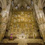 Der Hauptaltar in der Catedral Primada (Kathedrale von Toledo)