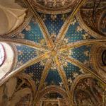 Die Decke der Kapelle San Blas in der Catedral Primada (Kathedrale von Toledo)