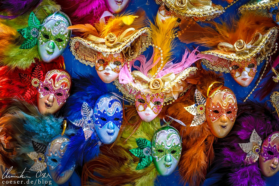 Souvenirs während des Karneval von Venedig