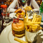 Der Legendary Burger im Hard Rock Cafe Boston