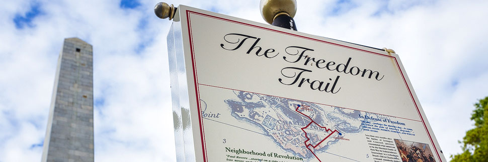 Der Freedom Trail in Boston
