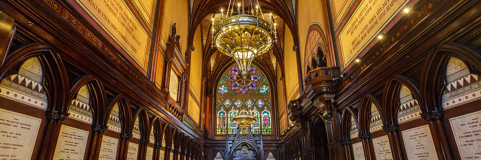 Memorial Transept in der Boston Memorial Hall