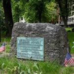 Grab von Samuel Adams auf dem Friedhof Granary Burying Ground