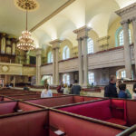 Innenansicht der unitarischen Kirche King's Chapel