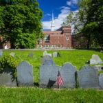 Grabsteine auf dem Friedhof Copp's Hill Burying Ground