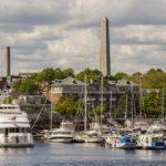 Blick auf das Bunker Hill Monument