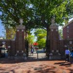 Eingangstor zum Campus der Harvard University