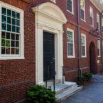 Wohnheim auf dem Campus der Harvard University